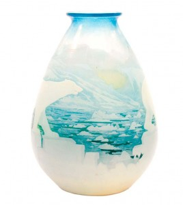 The better version of a Gallé polar bear vase
