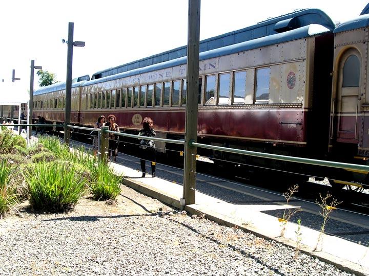 The Napa Valley Wine Train