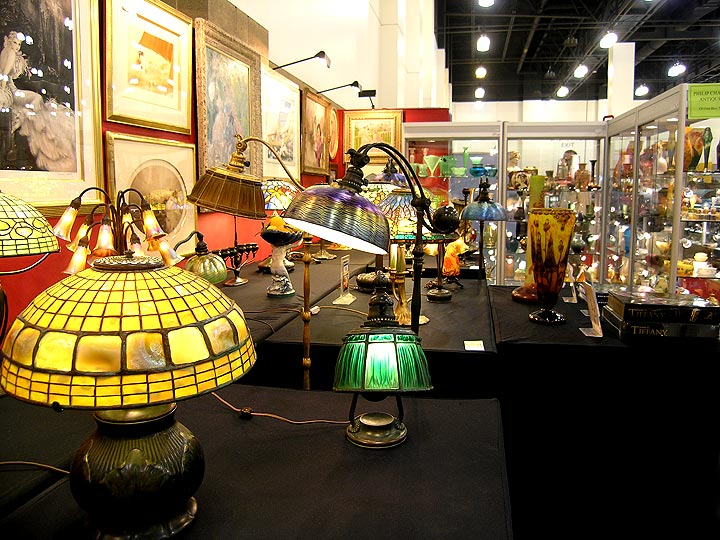 The Pasadena Antiques Show, August 9, 2009