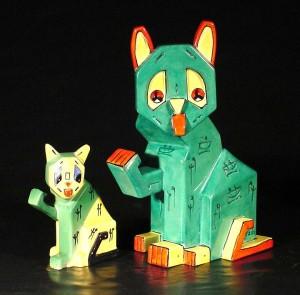 Wain Futurist cats