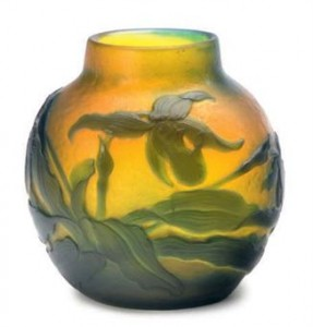 Galle vase, Christie's lot 267