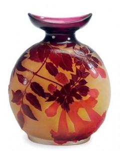 Galle vase, Christie's lot 272