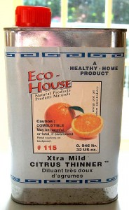 Eco-House citrous thinner