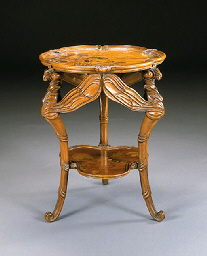 Emile Gallé dragonfly table