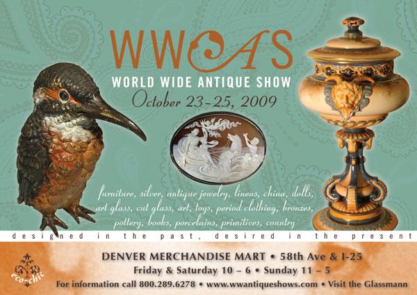 The Denver Antiques Show, October 23-25, 2009