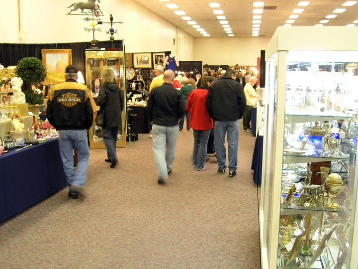 Sunday at the Denver Antiques Show