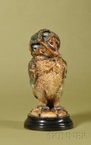 Martin Brothers bird, Skinner lot #152