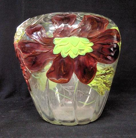 Tiffany Studios cameo vase