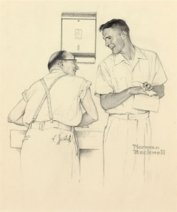 Norman Rockwell, Heritage lot #96253