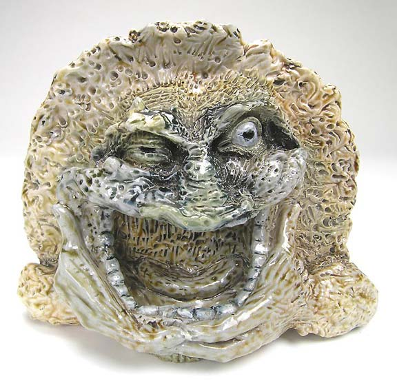 A rare and fantastic Martin Brothers stoneware creature