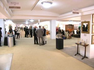 Preview night at the Chicago Merchandise Mart Show