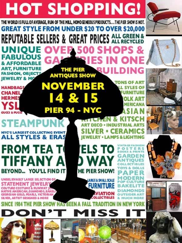 The NYC Pier Show, November 14-15