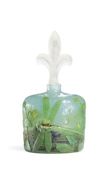 Daum dragonfly bottle, Christie's lot #189, December 8, 2009