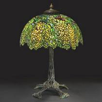 Tiffany Studios Laburnum table lamp, Sotheby's lot 434