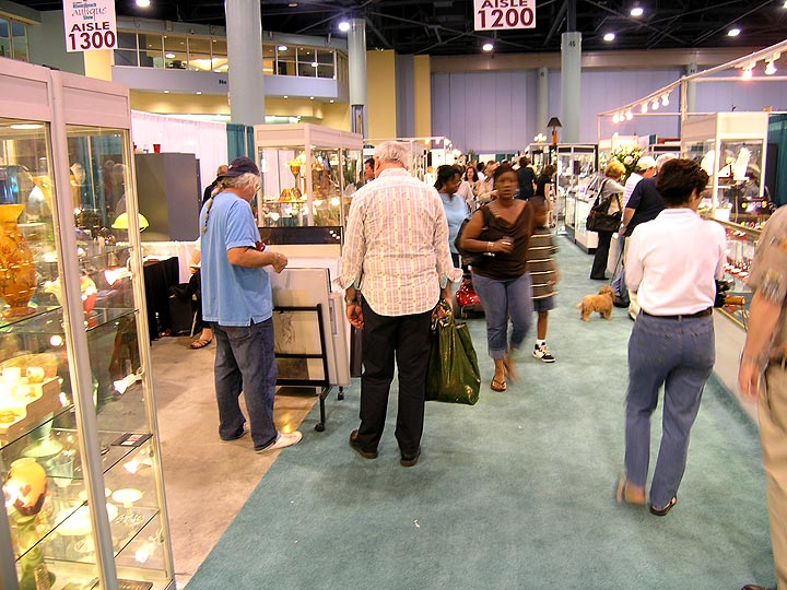 Saturday, 1/23/10, at the Original Miami Beach Antiques Show