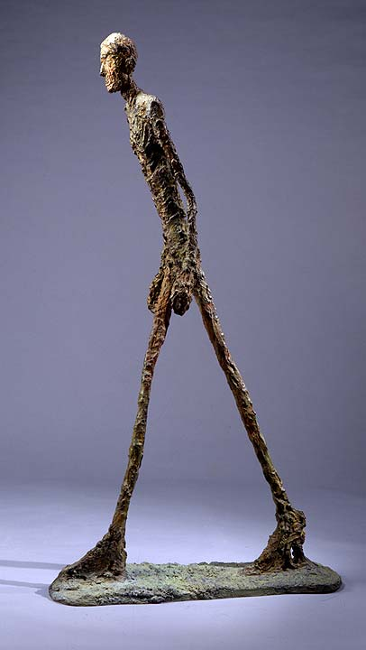 Alberto Giacometti 'Walking Man I', Sotheby's London lot #8, February 3, 2010