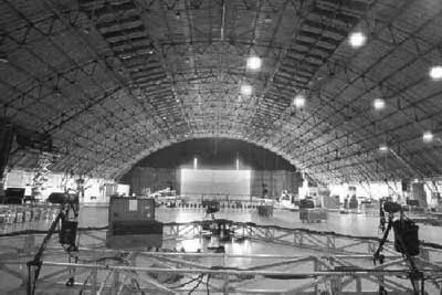 The Barker Hangar at the Santa Monica Air Center
