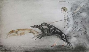 A unique variation of Speed, a gift for Icart's daughter, Reine