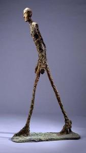 Alberto Giacometti bronze 'Walking Man I', lot Sotheby's London, February 3, 2010