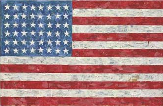 "Jasper Johns ""Flag"", Christie's New York, lot 7, May 11, 2010"