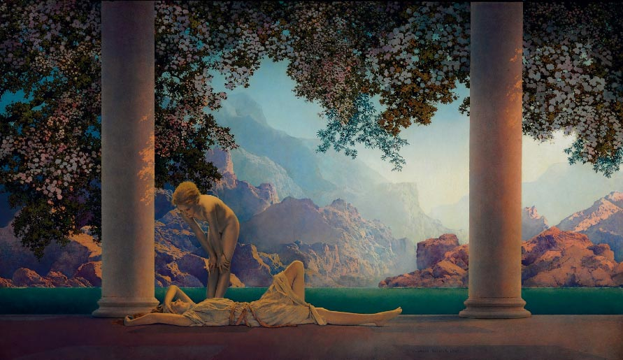 Maxfield Parrish 'Daybreak', Christie's lot 24, May 20, 2010