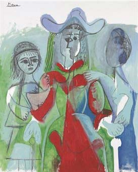 Picasso 'Femme et fillettes', Christie's New York lot 13, May 11, 2010