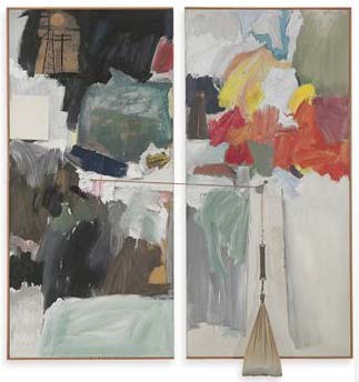 Robert Rauschenberg 'Studio Painting';, Christie's New York, lot 24, May 11, 2010