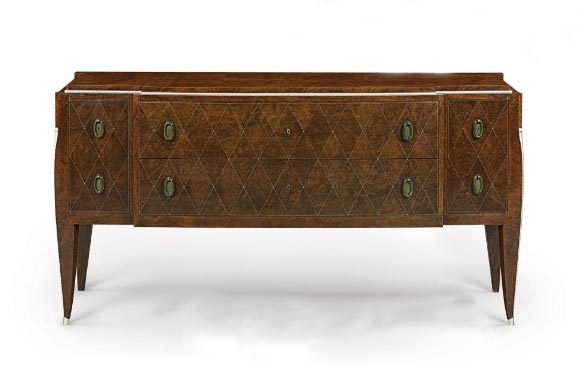 Emile-Jacques Ruhlmann commode, circa 1925, Christie's lot #97, June 17, 2010