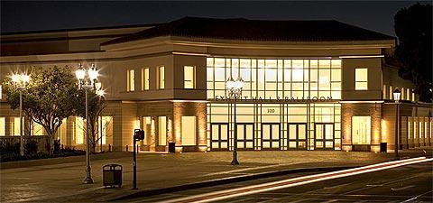 The Pasadena Exhibition Hall, part of the Pasadena Convention Center