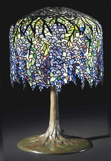 Wow! What a day for Tiffany Studios lamps and glass at Christie's ...