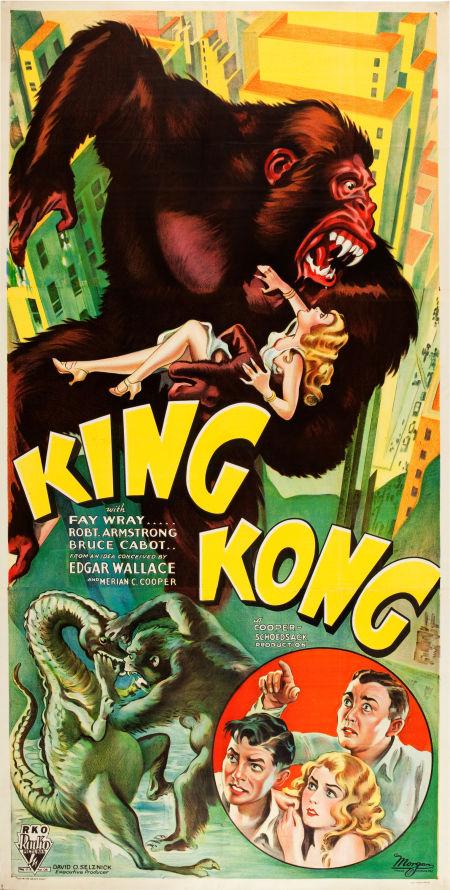 1933 King Kong poster, Heritage lot #83252