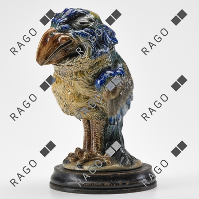 Fine Martin Brothers bird, Rago lot #150