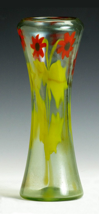 Tiffany Favrile paperweight vase, Cottone lot #500