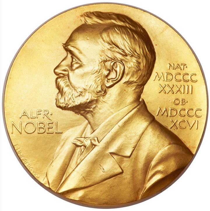 Dr. Francis Crick's Nobel prize medal, front, Heritage lot #34001