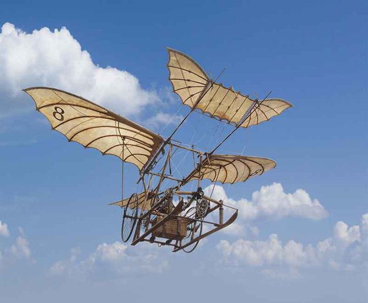Waxflatter Ornithopter from the movie The Young Sherlock Holmes, Christie's lot #100