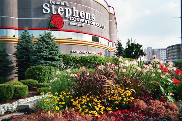 The Donald E. Stephens Convention Center, on River Road, in Rosemont, IL