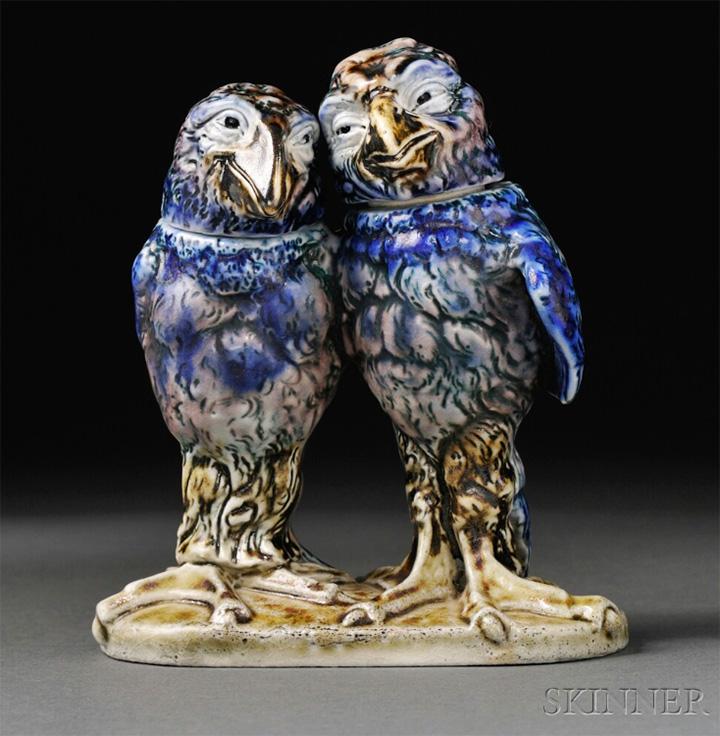 Martin Brothers double bird, Skinner lot #896