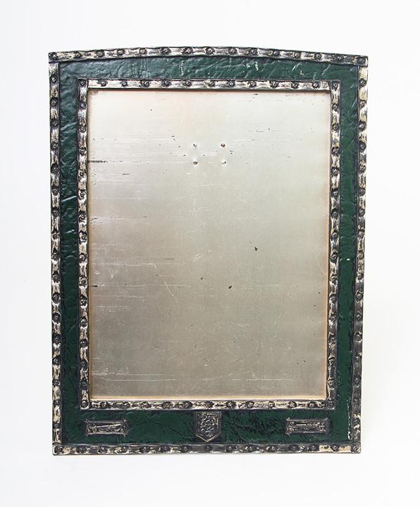 Rare Tiffany Studios frame in the Medallion pattern