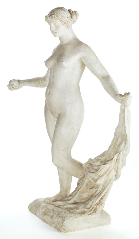 Original Renoir plaster, Grande Vénus Victorieuse, Heritage lot #89115