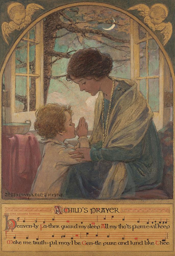 Jesse Wilcox Smith's A Child's Prayer, Heritage lot #78153