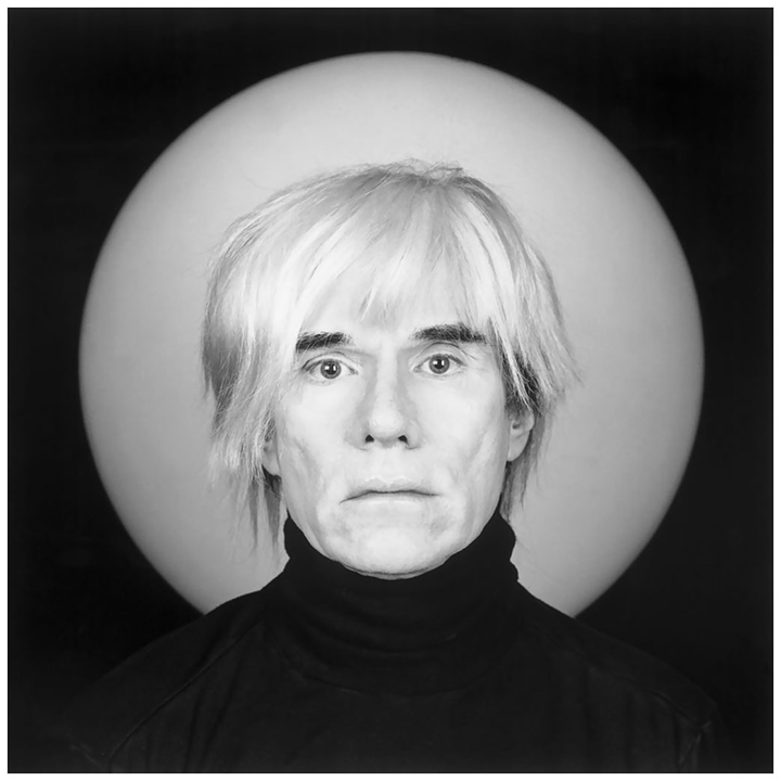 Robert Mapplethorpe portrait of Andy Warhol
