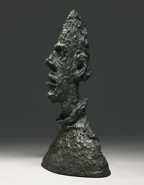 Giacometti bronze Grande Tête Mince (Grand Tête de Diego), Sotheby's lot #15