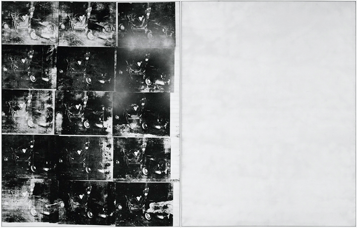 Andy Warhol Silver Car Crash (Double Disaster), Sotheby's lot #16