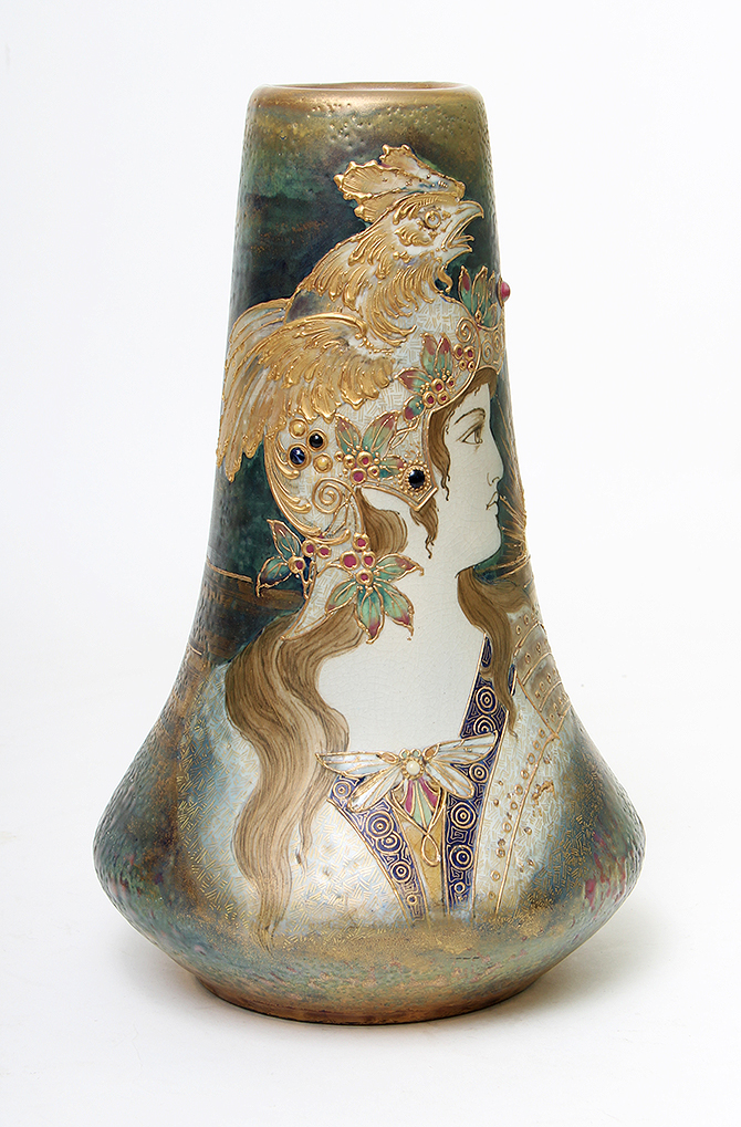 We sold this beautiful Amphora Allegory of France vase at the show