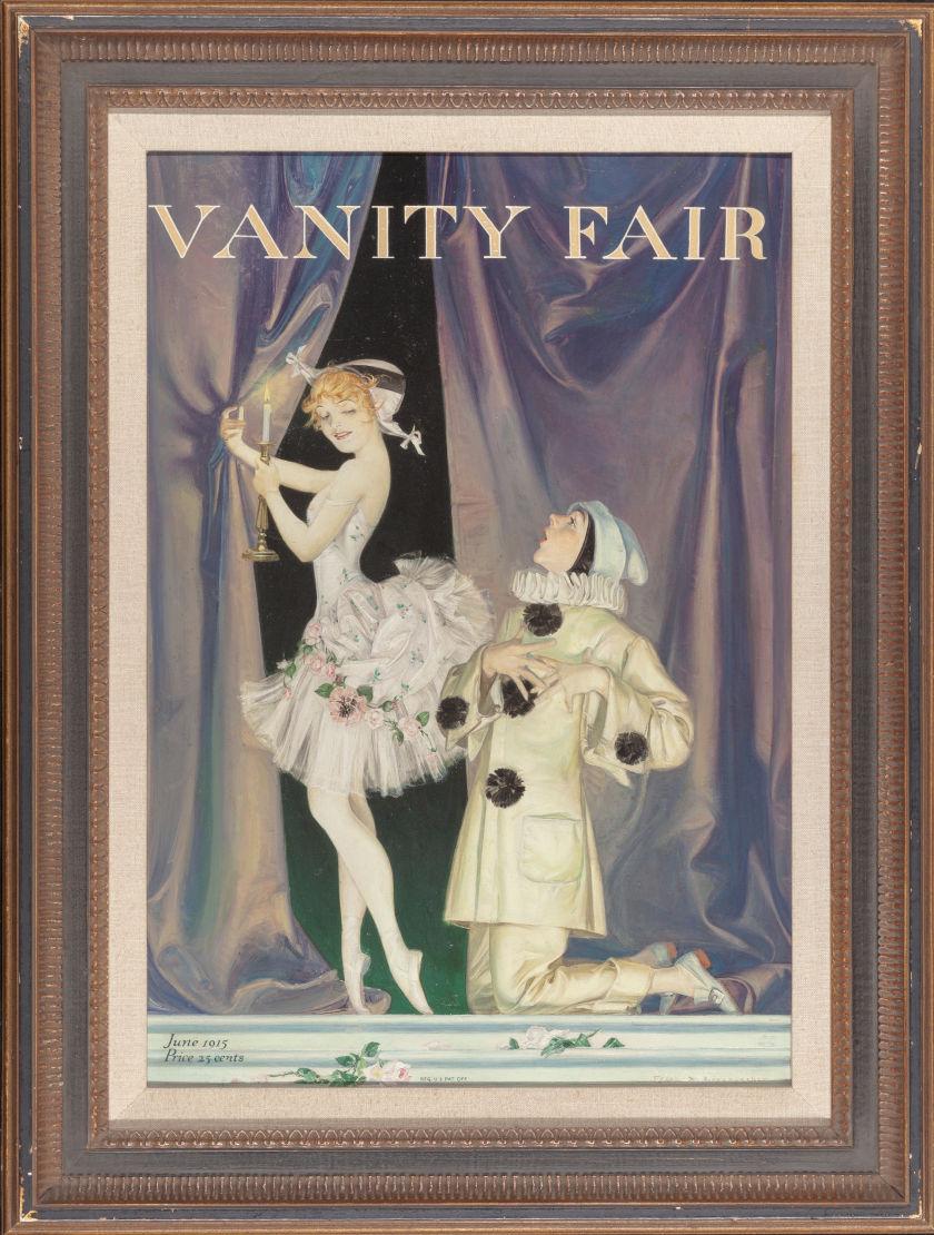 Francis Xavier Leyendecker cover painting for Vanity Fair Magazine, Heritage lot #70287