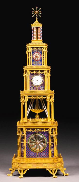 1790 English automaton, Sotheby's lot #48