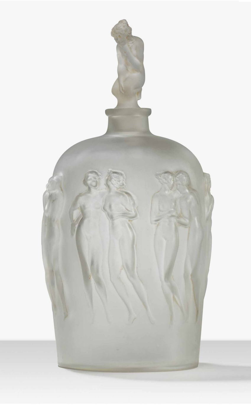 This rare R. Lalique Douze Figurines bottle just arrived