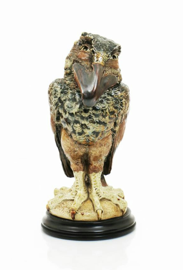 Superb Martin Brothers bird, Woolley & Wallis lot #149