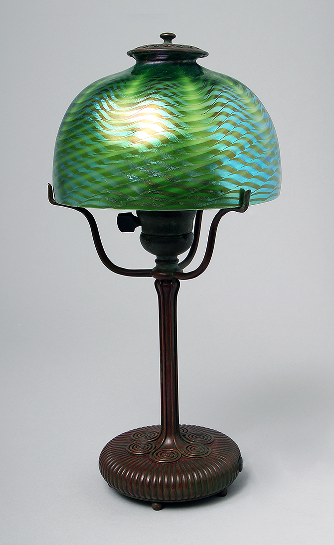 We'll have this killer Favrile lamp at the show