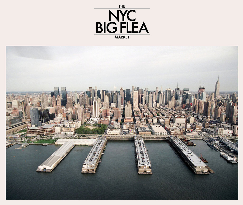 The show will be held in Pier 94, the white building on the left, September 27-28, 2014